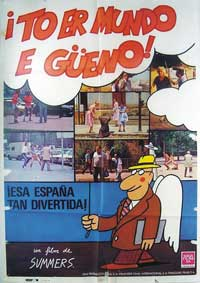To er mundo e gueno - 27 x 40 Movie Poster - Spanish Style A