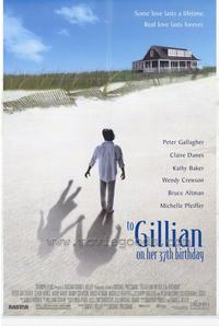 To Gillian on Her 37th Birthday - 11 x 17 Movie Poster - Style A