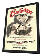 To Have & Have Not - 11 x 17 Movie Poster - Style A - in Deluxe Wood Frame