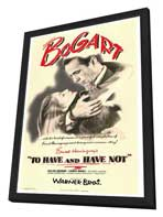To Have & Have Not - 27 x 40 Movie Poster - Style A - in Deluxe Wood Frame