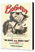 To Have & Have Not - 27 x 40 Movie Poster - Style A - Museum Wrapped Canvas