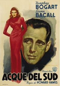 To Have & Have Not - 43 x 62 Movie Poster - Italian Style B
