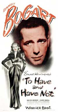 To Have & Have Not - 11 x 14 Movie Poster - Style C
