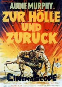 To Hell and Back - 11 x 17 Movie Poster - German Style A