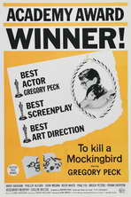 To Kill a Mockingbird - 11 x 17 Movie Poster - Style F