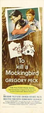 To Kill a Mockingbird - 14 x 36 Movie Poster - Insert Style B