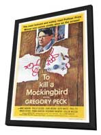 To Kill a Mockingbird - 27 x 40 Movie Poster - Style A - in Deluxe Wood Frame