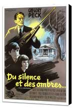 To Kill a Mockingbird - 11 x 17 Movie Poster - French Style B - Museum Wrapped Canvas