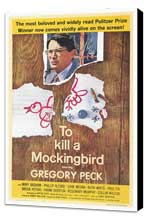 To Kill a Mockingbird - 27 x 40 Movie Poster - Style A - Museum Wrapped Canvas