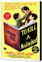 To Kill a Mockingbird - 27 x 40 Movie Poster - Style B - Museum Wrapped Canvas