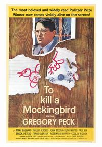 To Kill a Mockingbird - 43 x 62 Movie Poster - Bus Shelter Style A