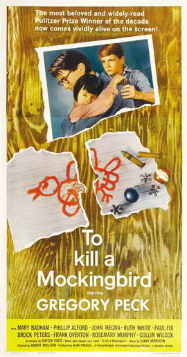 To Kill a Mockingbird - 11 x 17 Movie Poster - Style D