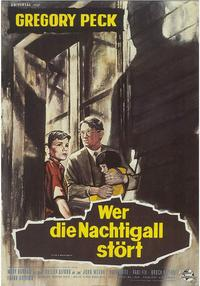 To Kill a Mockingbird - 11 x 17 Movie Poster - German Style H