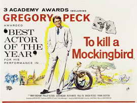To Kill a Mockingbird - 30 x 40 Movie Poster UK - Style A