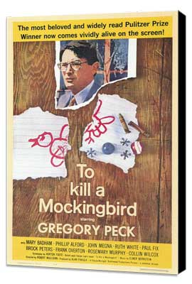 To Kill a Mockingbird - 11 x 17 Movie Poster - Style A - Museum Wrapped Canvas