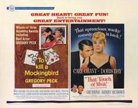 To Kill a Mockingbird/That Touch of Mink - 22 x 28 Movie Poster - Half Sheet Style A