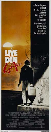 To Live & Die in L.A. - 14 x 36 Movie Poster - Insert Style A