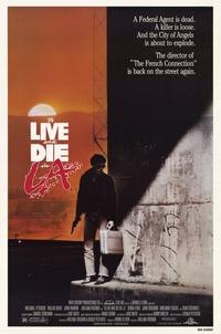 To Live & Die in L.A. - 11 x 17 Movie Poster - Style A - Museum Wrapped Canvas