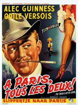 To Paris with Love - 11 x 17 Movie Poster - Belgian Style A