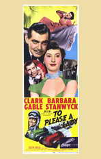 To Please a Lady - 11 x 17 Movie Poster - Style B