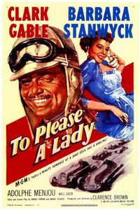 To Please a Lady - 11 x 17 Movie Poster - Style A