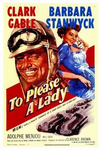 To Please a Lady - 27 x 40 Movie Poster - Style A