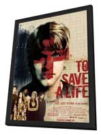 To Save a Life - 11 x 17 Movie Poster - Style A - in Deluxe Wood Frame