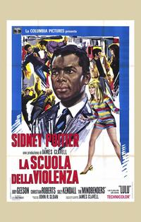 To Sir, with Love - 11 x 17 Movie Poster - Italian Style A