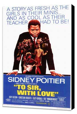 To Sir, with Love - 11 x 17 Movie Poster - Style A - Museum Wrapped Canvas