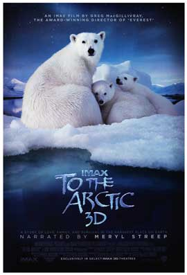 To the Arctic 3D - DS 1 Sheet Movie Poster - Style A