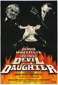 To the Devil, a Daughter - 11 x 17 Movie Poster - Spanish Style A