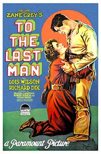 To the Last Man - 11 x 17 Movie Poster - Style A