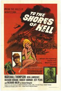 To the Shores of Hell - 11 x 17 Movie Poster - Style A