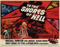 To the Shores of Hell - 11 x 14 Movie Poster - Style D