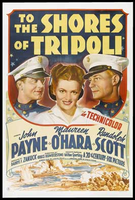 To the Shores of Tripoli - 11 x 17 Movie Poster - Style A