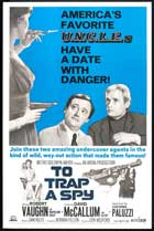 To Trap a Spy - 27 x 40 Movie Poster - Style B