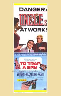To Trap a Spy - 27 x 40 Movie Poster - Style A