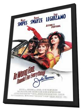 To Wong Foo, Thanks for Everything, Julie Newmar - 27 x 40 Movie Poster - Style A - in Deluxe Wood Frame