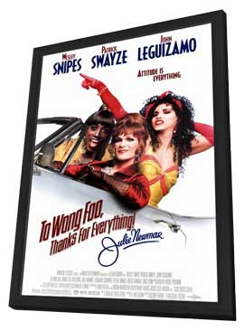 To Wong Foo, Thanks for Everything, Julie Newmar - 11 x 17 Movie Poster - Style A - in Deluxe Wood Frame