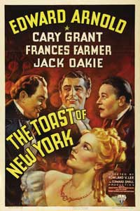 Toast of New York - 27 x 40 Movie Poster - Style A