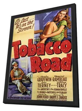 Tobacco Road - 11 x 17 Movie Poster - Style B - in Deluxe Wood Frame