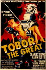 Tobor the Great - 11 x 17 Movie Poster - Style A