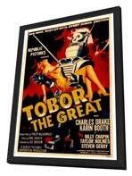Tobor the Great - 27 x 40 Movie Poster - Style A - in Deluxe Wood Frame