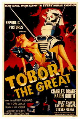 Tobor the Great - 27 x 40 Movie Poster - Style A