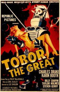 Tobor the Great - 43 x 62 Movie Poster - Bus Shelter Style A