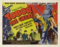 Tobor the Great - 30 x 40 Movie Poster UK - Style A