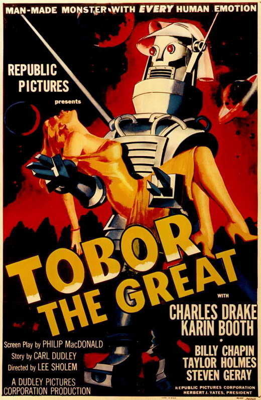 tobor the great movie posters from movie poster shop