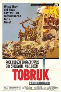 Tobruk - 11 x 17 Movie Poster - Style A