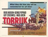 Tobruk - 11 x 14 Movie Poster - Style A