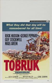 Tobruk - 11 x 17 Movie Poster - Style B